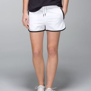 Lululemon Varsity Shorts White